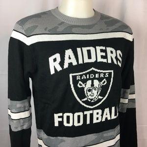 Oakland Raiders Mens Sweater